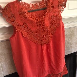Coral esley top